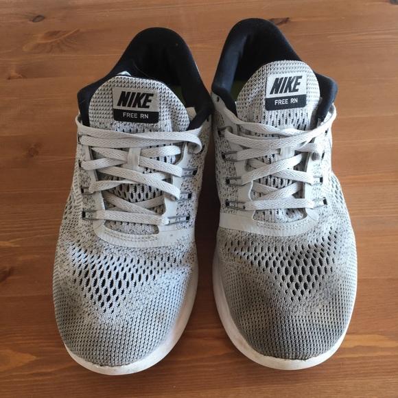 Men's NIKE FREE RN Running Shoes Size 9